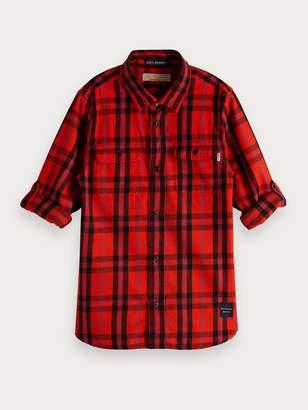 Scotch & Soda Plaid Shirt Regular fit