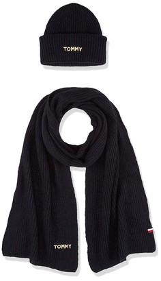 Tommy Hilfiger Women's Effortless Scarf & Beanie Gp Scarf Hat & Glove Set
