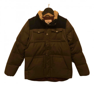 Pyrenex Khaki Synthetic Jackets & Coats