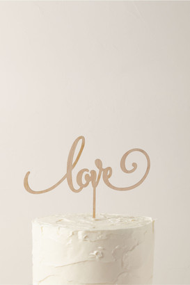 The Roc Shop Love Cake Topper