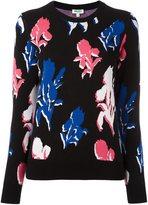 Kenzo 'Iris' jumper - women - Polyester/Viscose - XS