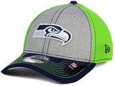 New Era Seattle Seahawks Heathered Neo 39THIRTY Cap