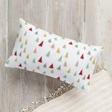 Minted Christmas Tree Forest Self-Launch Lumbar Pillows