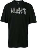 Marcelo Burlon County of Milan printed T-shirt - men - Cotton/Polyester - XS
