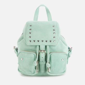 Nunoo Women's Sofia Mini Suede Bag - Green
