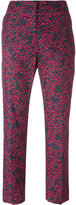 Sonia Rykiel patterned tailored trousers - women - Cotton - 36