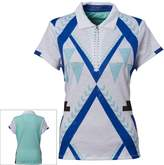Women's Nancy Lopez Faith Quarter-Zip Golf Polo