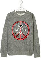 Kenzo teen printed sweatshirt
