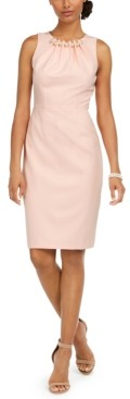 Harper Rose Embellished Sheath Dress
