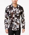 inc international concepts mens vostak abstractprint longsleeve shirt only at macys