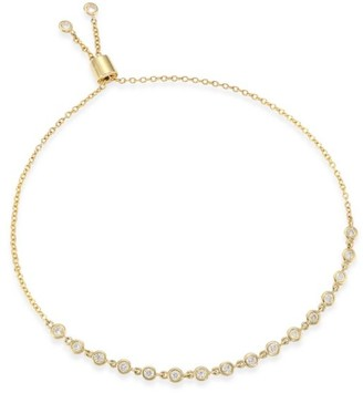 Zoë Chicco Diamond & 14K Yellow Gold Tennis Bracelet
