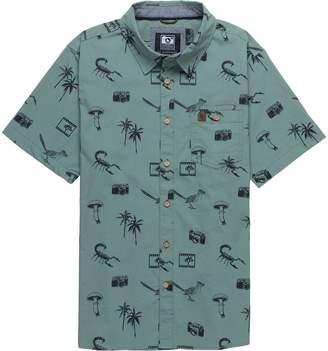 Hippy-Tree Hippy Tree Palms Woven Shirt - Men's