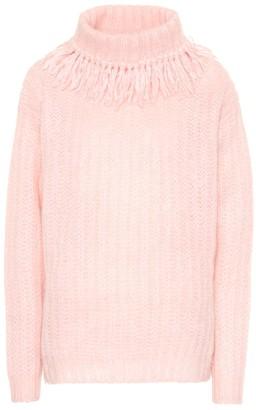 Miu Miu Wool-blend turtleneck sweater