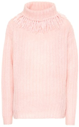 Miu Miu Wool-blend turtleneck sweater