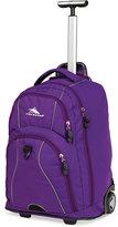 High Sierra Freewheel Rolling Backpack in Purple