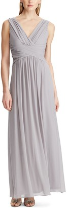 Chaps Women's Sleeveless Maxi Gown