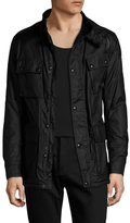 Belstaff Cotton Stand Collar Field Jacket