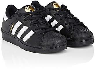 adidas Kids' Superstar Foundation Leather Sneakers - Cblack, Ftwwht, Cblack
