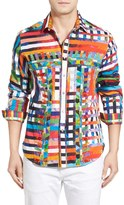 Robert Graham Valley of the Kings Limited Edition Print Sport Long Sleeve Classic Fit Shirt