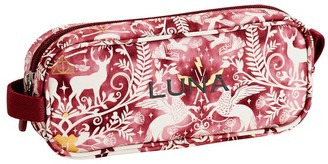 Pottery Barn Teen HARRY POTTER Gear-Up Magical Damask Maroon Recycled Pencil Case