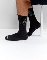 HUF Socks With Triple Triangle Logo