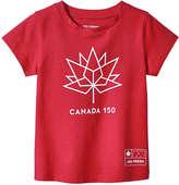 Joe Fresh Toddler Girls' Canada Graphic Tee, Red (Size 3)
