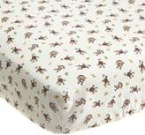 Kids Line Jungle 123 Fitted Crib Sheet