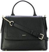 DKNY medium flap satchel