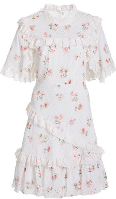 Needle & Thread Desert Rose Cotton-Lace Mini Dress