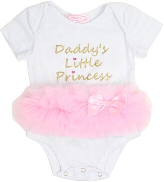 Popatu Daddy's Little Princess Tutu Bodysuit