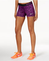 Nike Pro Palm-Print Dri-FIT Shorts