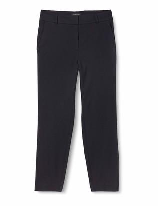 Selected Femme NOS Women's SLFRIA MW Cropped Pant DS Mel NOOS Trouser