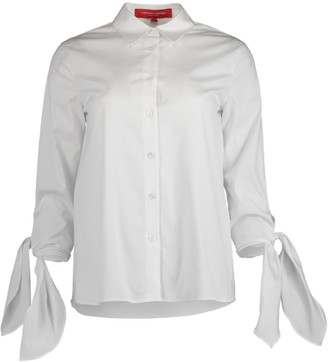 Carolina Herrera Cuff Tie Collared Shirt