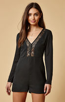 Lucca Couture Joanne Lace Inset Romper