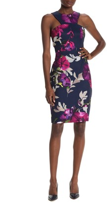 Trina Turk Delano Floral Sleeveless Dress