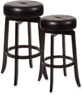 Ampersand AmpersandTM Rhodes Backless Swivel Barstool and Counter Stool in Dark Espresso