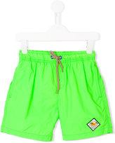 Vingino drawstring neon swim shorts - kids - Polyester - 8 yrs
