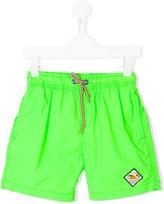 Vingino drawstring neon swim shorts