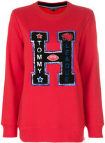 Tommy Hilfiger sweatshirt with letter appliqué