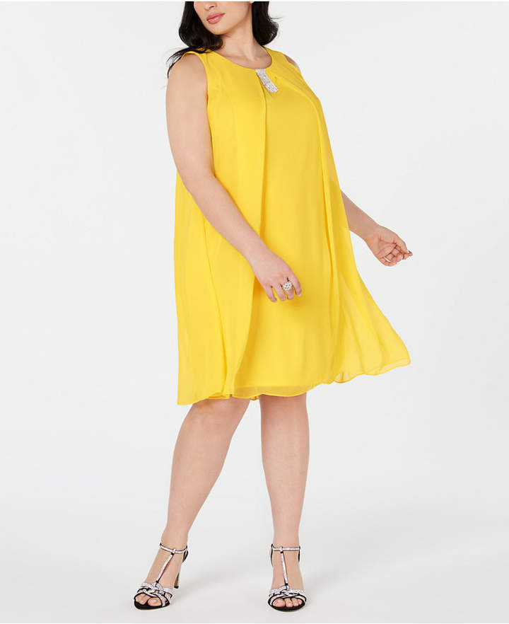 Yellow Plus Size Dresses - ShopStyle