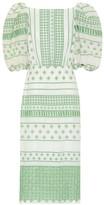 Johanna Ortiz Pre-Colombian Culture cotton midi dress