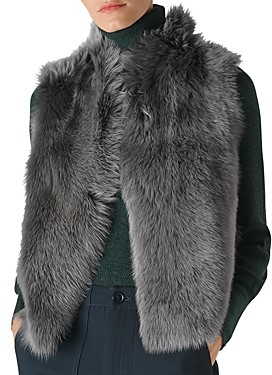 Whistles Toscana Shearling Vest