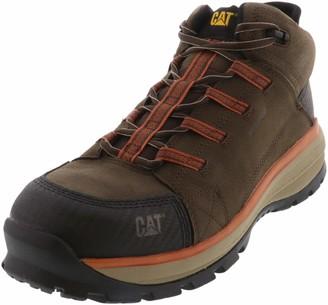 Caterpillar Utilize Waterproof Alloy Toe Work Boot Dark Bitter Chocolate 14 (P91054)