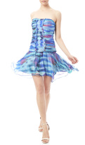 Minuet Multicolor Abstract Dress