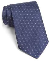 John Varvatos Men's Geometric Silk Tie
