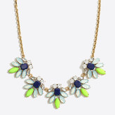 J.Crew Factory Crystal watchbird necklace