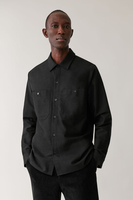 Cos Cotton Flannel Shirt