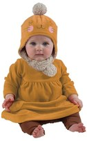 Zutano Infant Bunny Velour Hat & Bootie Set
