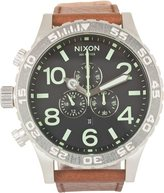 Nixon The 51-30 Chrono Leather Watch