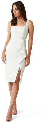 Forever New Petite Emily Petite Square Neck Midi Dress